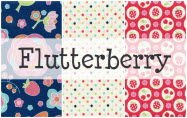 Flutterberry by Melly & Me for Riley Blake